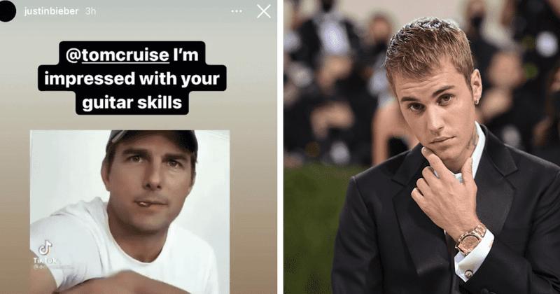 Justin Bieber se enamora del deepfake viral de Tom Cruise, los fanáticos dicen que el cantante es