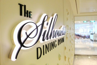 Eingang zum Silhouette Dining Room