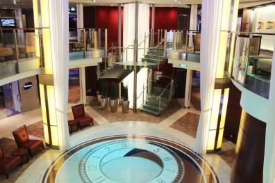 Der Entertainment Court und Eingang u.a. zum Kino und zur Disco