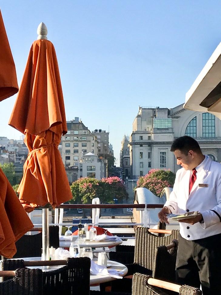 Frühstück in Montevideo an Bord der MS Sirena von Oceania Cruises (39)