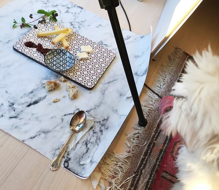Lea eats cheese