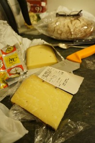 Gruyère and 5 Citron from Borough Market