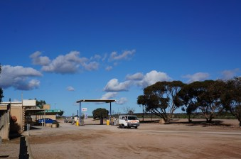 typical petrol station in the Nullarbor Plains