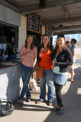 wine tasting at Swan Valley