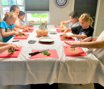 Kids Book Club, Mexican Class and Lunch