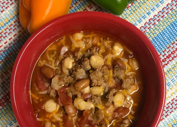 Rich and satisfying, you'll enjoy a big bowl of Rio Grande Chili.
