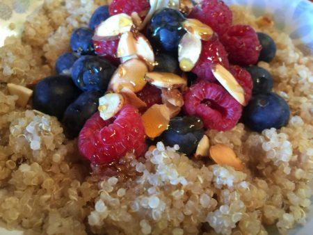 Quick Quinoa Breakfast Bowl