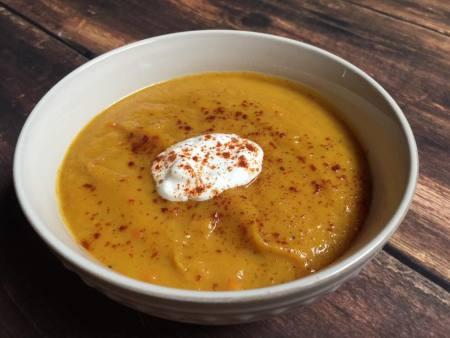 Spiced Butternut Squash Soup | Chef Alli's Farm Fresh Kitchen