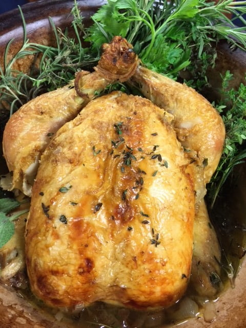 Faux-Tisserie Chicken in the Electric Pressure Cooker