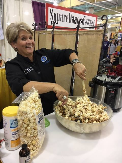 Thrill's Kettle Corn Treats at the Kansas State Fair | Chef Alli's Farm Fresh Kitchen