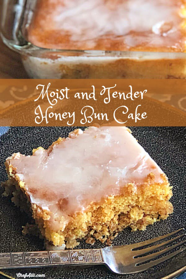 Our all-time favorite coffee cake. The boys prefer this Honey Bun Cake without the pecans, but I love the texture of the nuts as part of the filling.