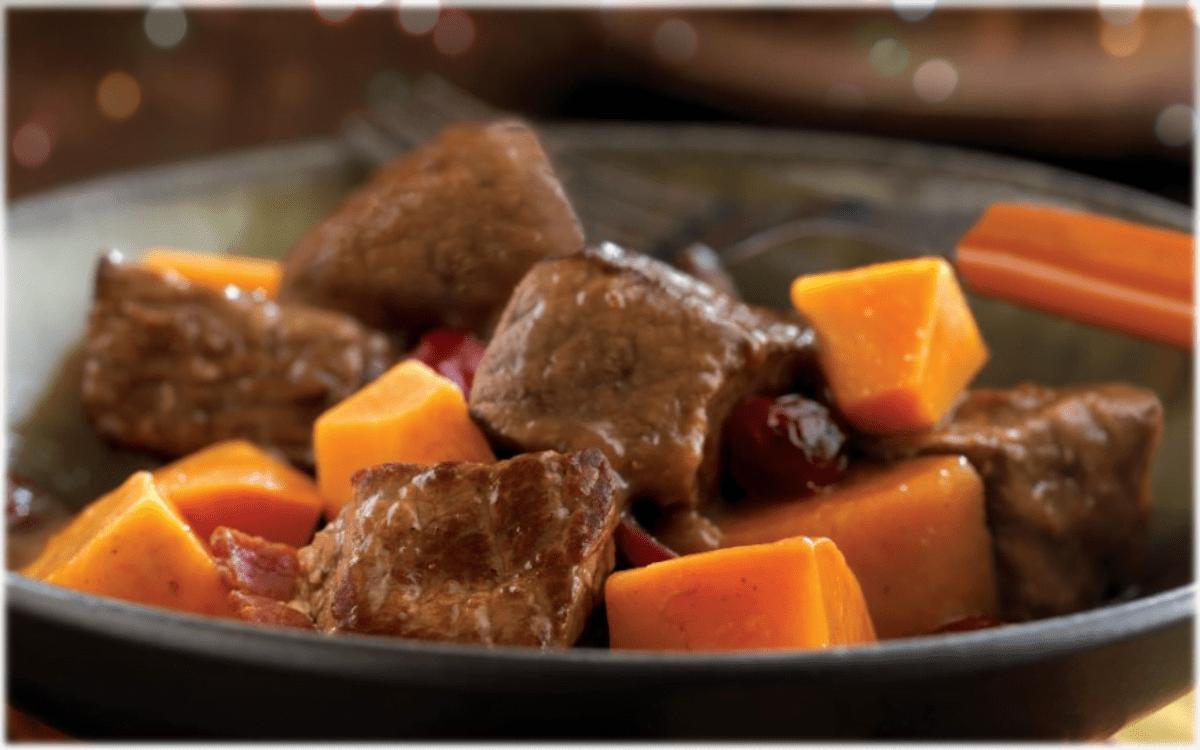 Electric Pressure Cooker Beef and Cider Stew | Chef Alli's Farm Fresh Kitchen