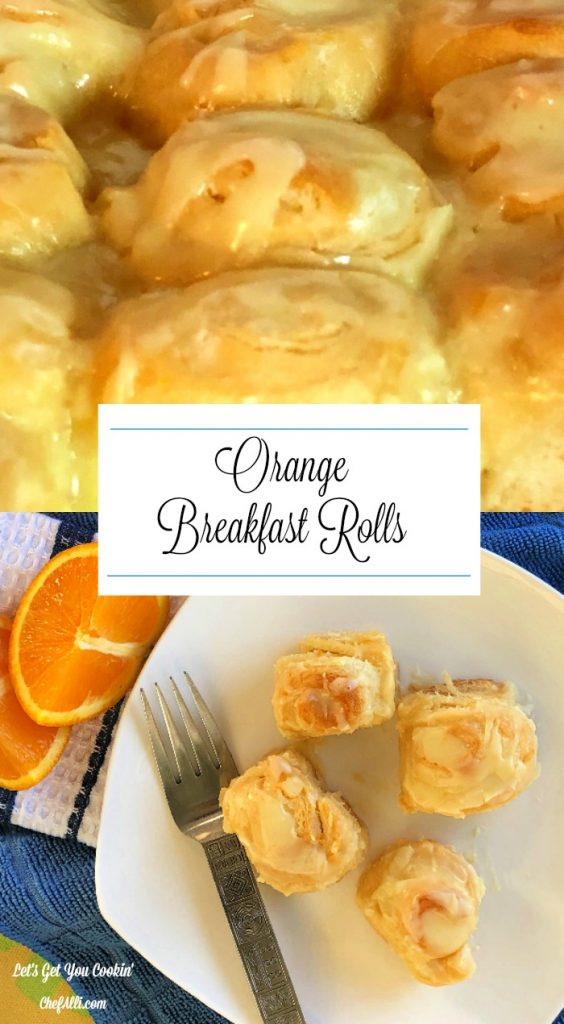 Are you looking for an easy breakfast pastry? These Easy Orange Breakfast Crescents are super simple to make and will be the best crescent at any breakfast or brunch!
