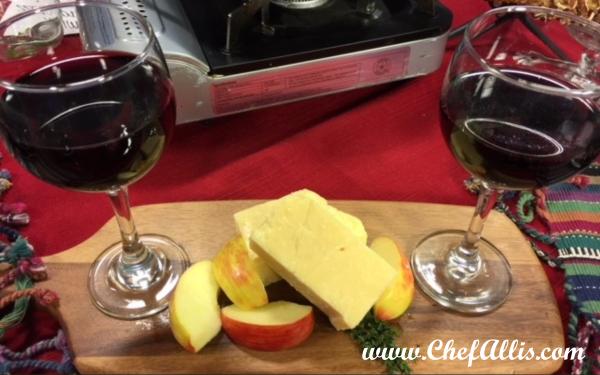 Quick Cheese Appetizer   Chef Alli's Farm Fresh Kitchen