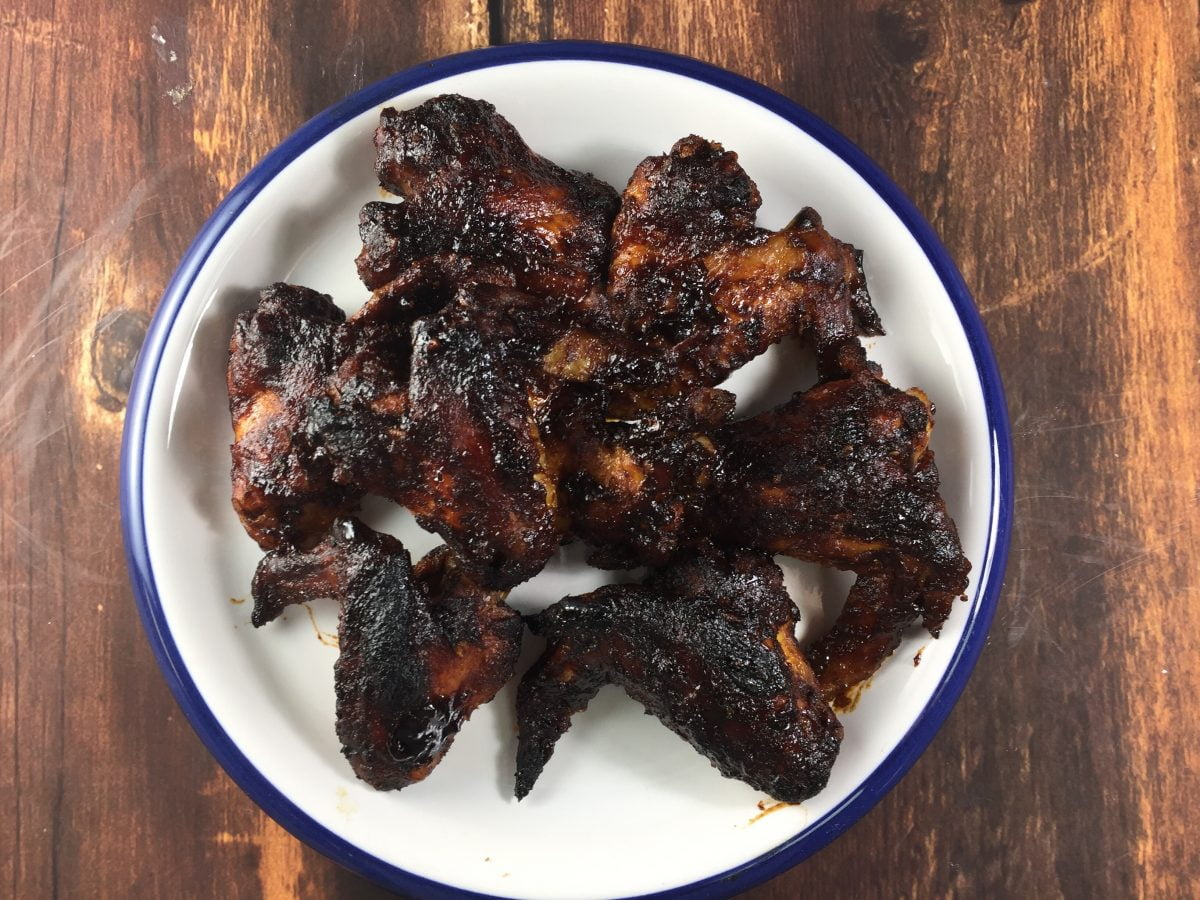 Sweet and Sticky Chicken Wings in the Electric Pressure Cooker