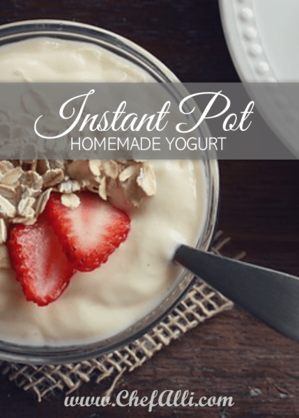 Homemade Yogurt in the Instant Pot