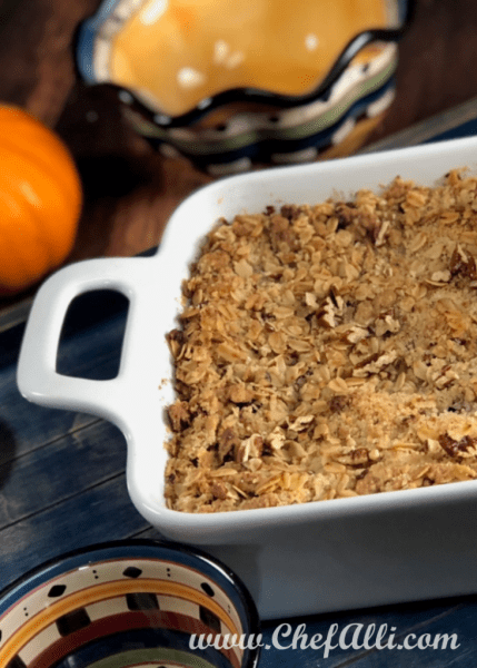 If you don't love sweet potatoes, you will after trying this recipe! Baked Sweet Potato Crumble is perfect!