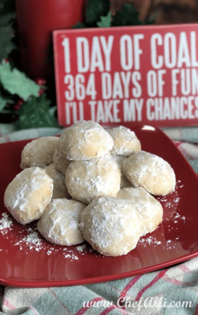 Mom S Russian Tea Cakes Bring Back Warm Holiday Memories Chefalli