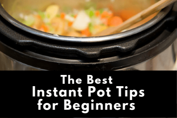 Instant Pot filled with vegetables.