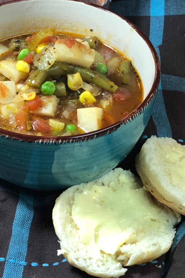Are you craving a bowl of soul-satisfying vegetable beef soup? If you've got an Instant Pot (or any electric pressure cooker) you can have it on the table in mere minutes!