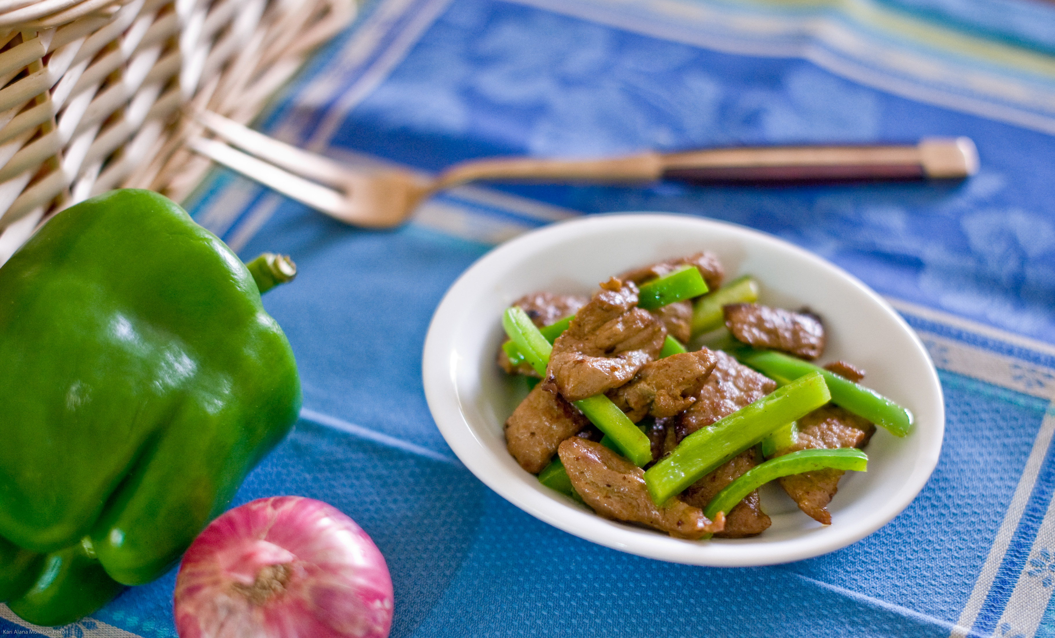 spicy jamaican style peppered steak stir fry  chef and