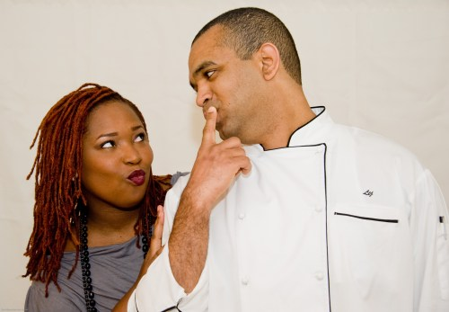 Chef and Steward funny faces-1
