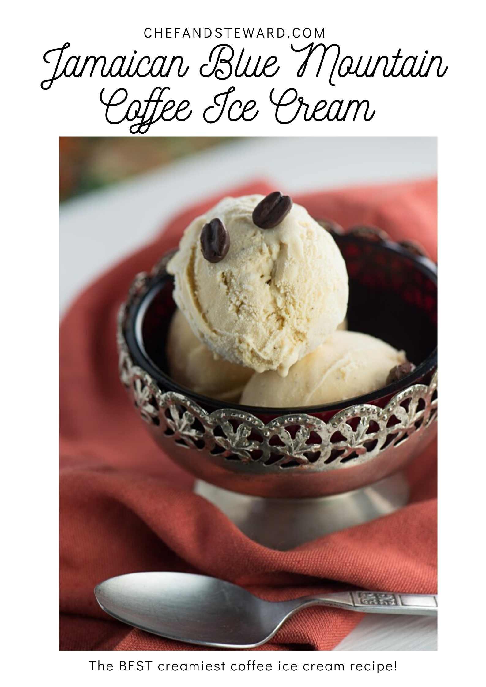 Jamaican Blue Mountain Coffee Ice Cream Recipe