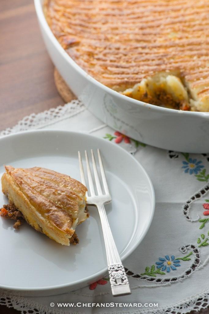 Beef shepherds pie or cottage pie