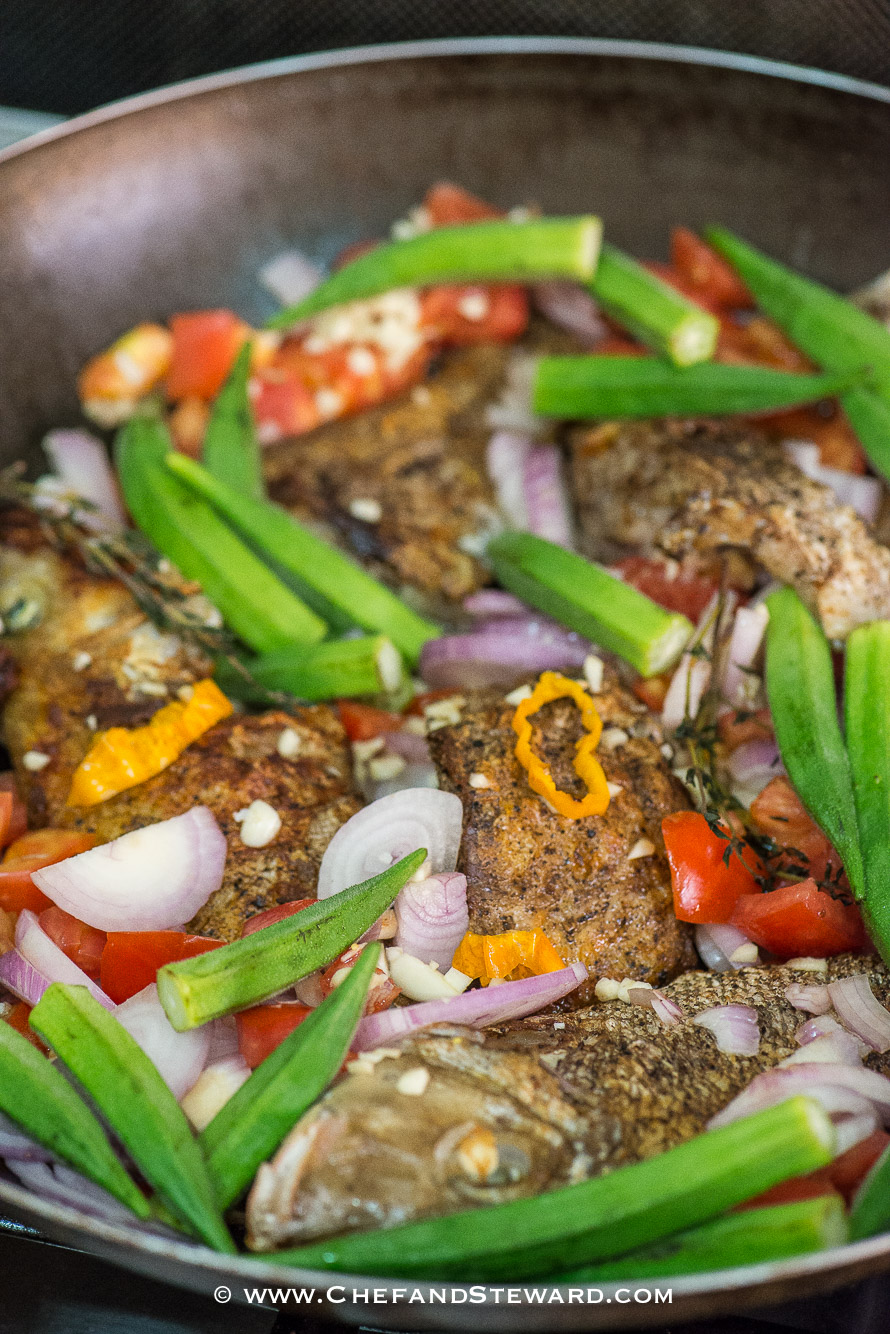Jamaican Brown Stew Fish for Healthy Ramadan Recipe -4