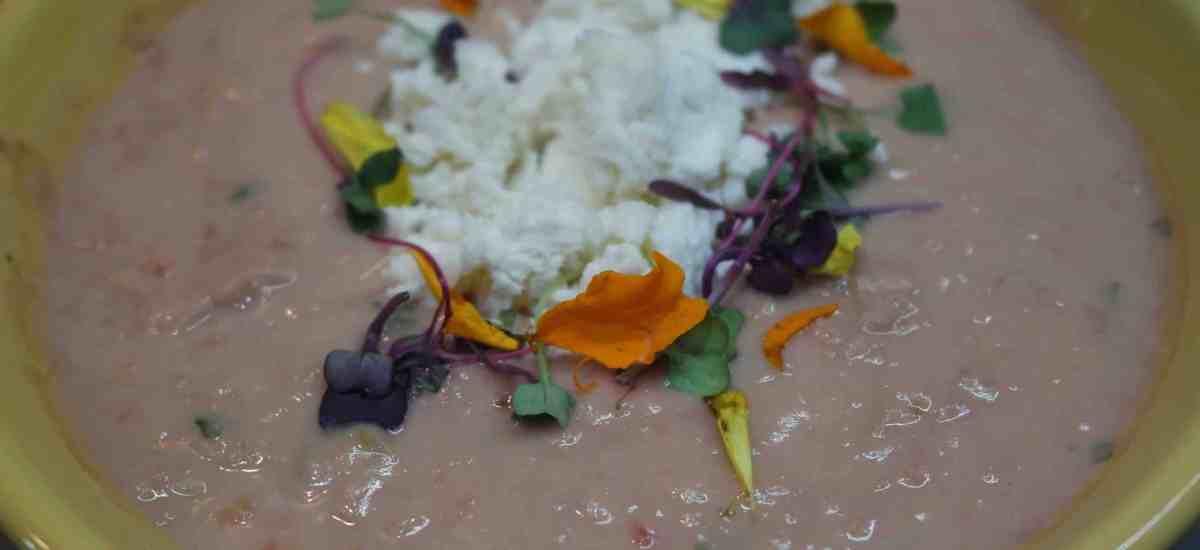 Smashed Cheesy & Creamy Peruvian Beans