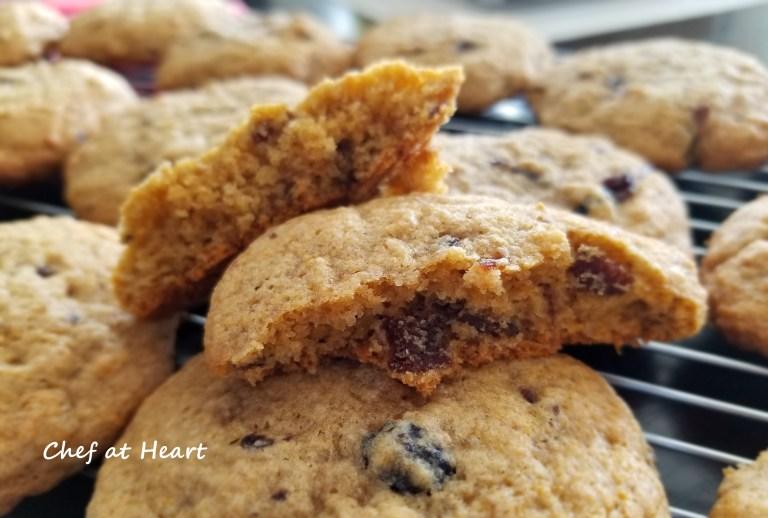 Gluten-free mincemeat cookies