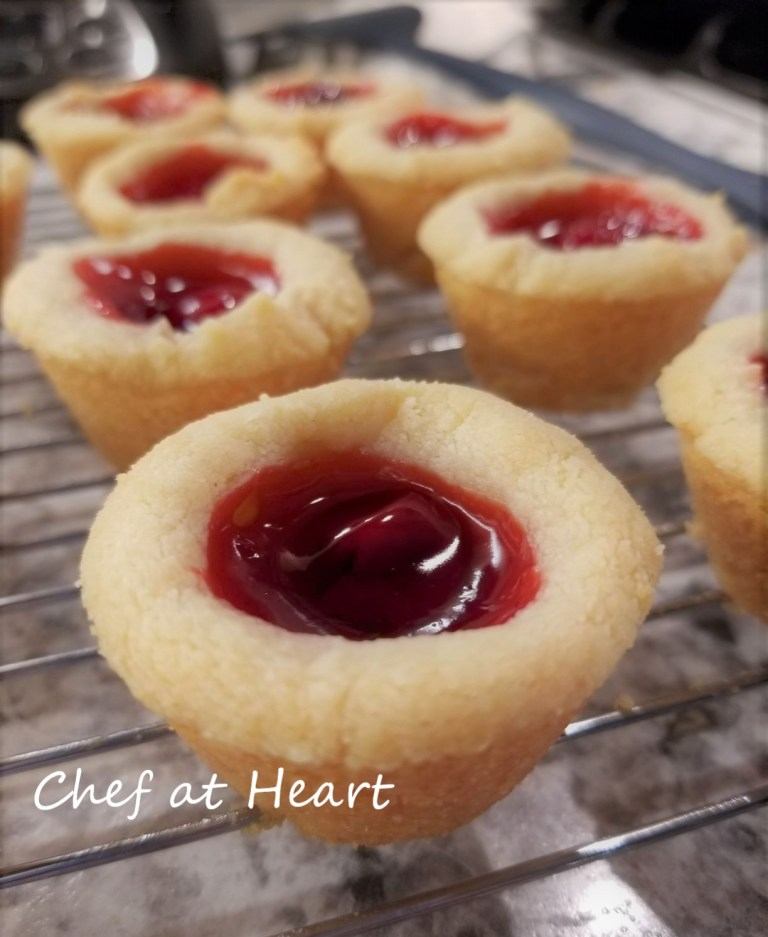 Gluten-free Cherry Tassies