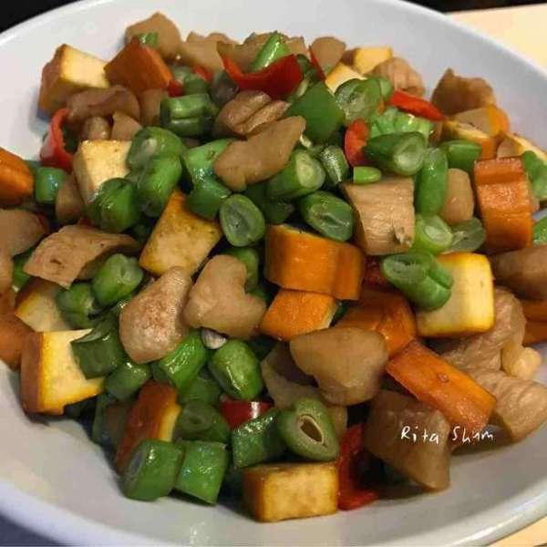 潮州菜脯炒豆乾