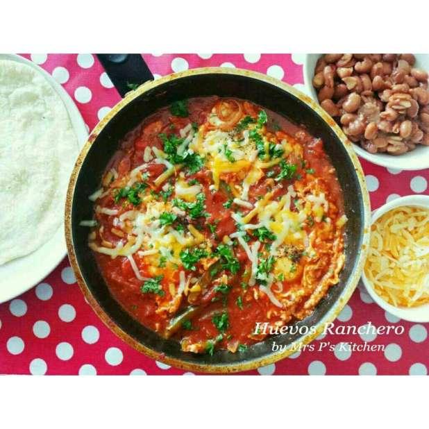 墨西哥式煎蛋早餐 Huevos Ranchero