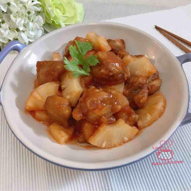[開胃小菜] 菠蘿甜酸雞球