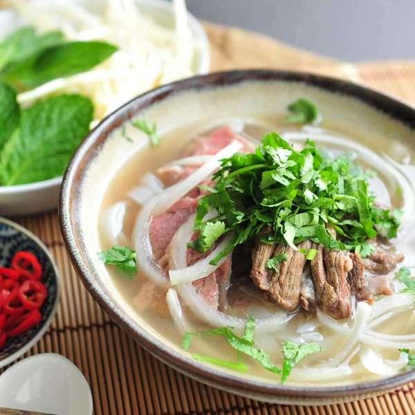越南生熟牛肉湯河