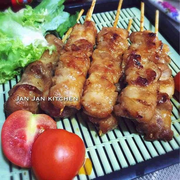 泰式辣雞肉串燒