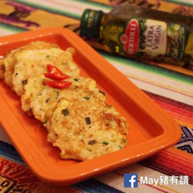 香葱雞蛋煎米餅