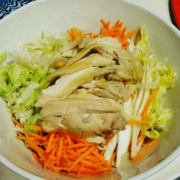 麻醬雞絲拉麵