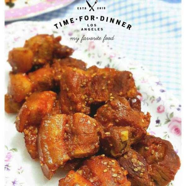 韓式醬烤五花腩