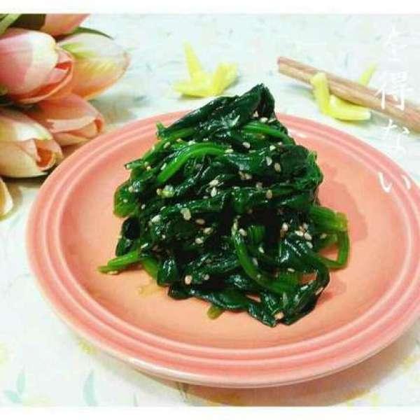 韓式麻油菠菜涼拌