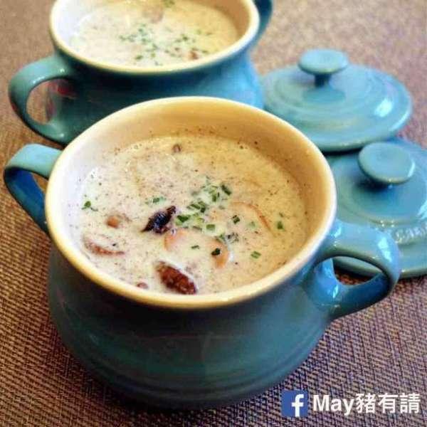 鮮忌廉蘑菇湯