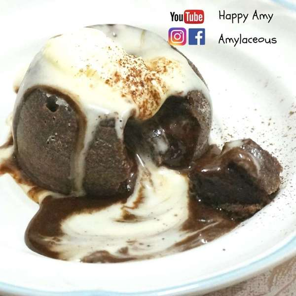 心太軟食譜 Chocolate Lava cake recipe