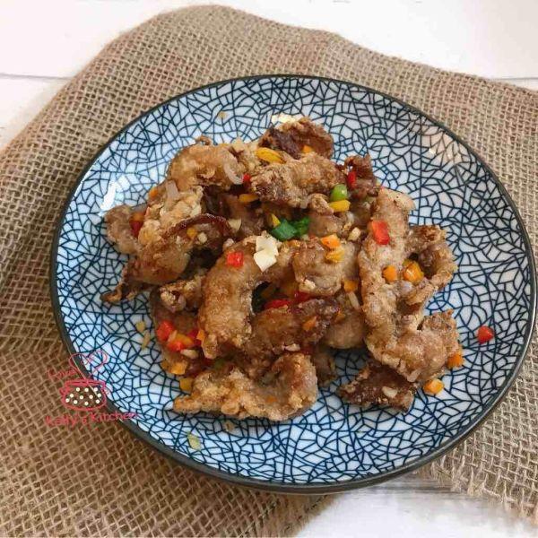 [惹味小菜] 椒鹽豬頸肉
