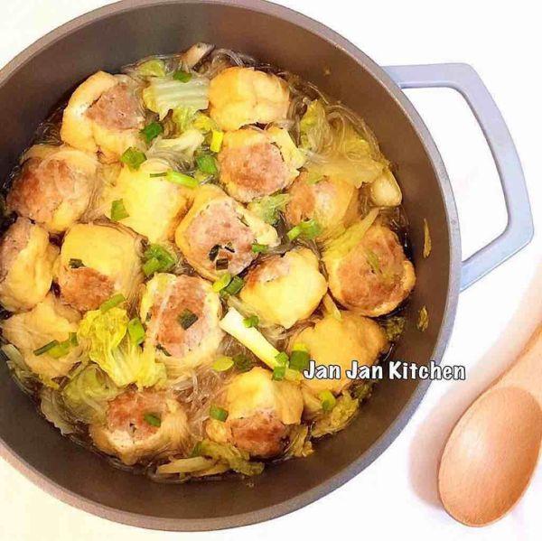 油豆腐粉絲鍋