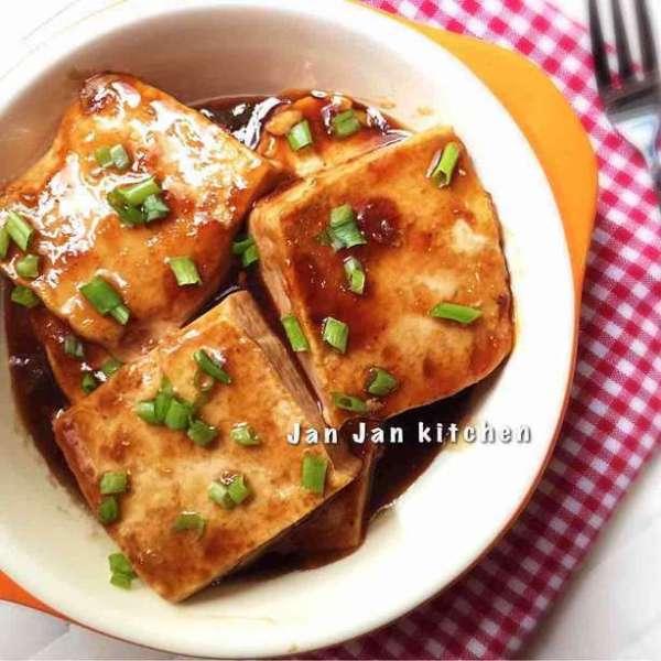 簡易醬油豆腐