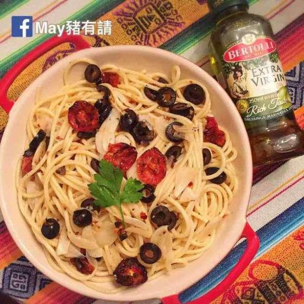 簡易香蒜橄欖意大利粉