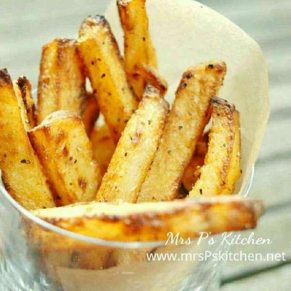 【健康小食】 酥脆焗薯條