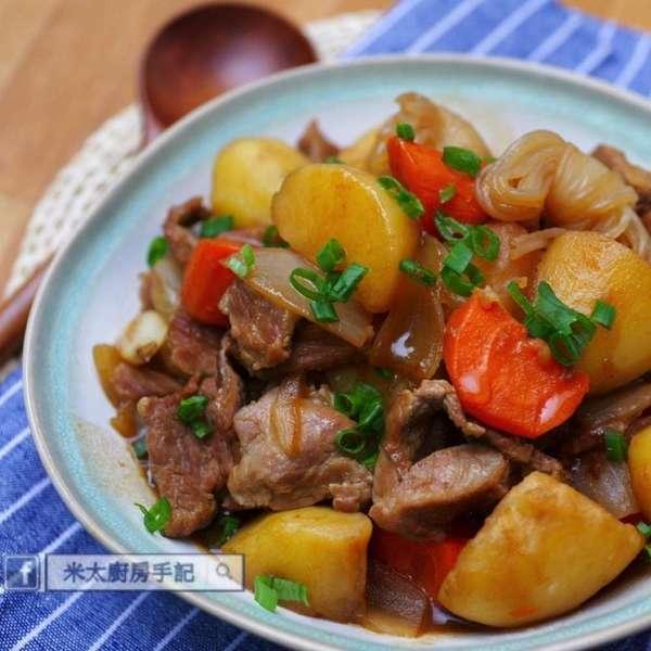 日式薯仔燉豚肉