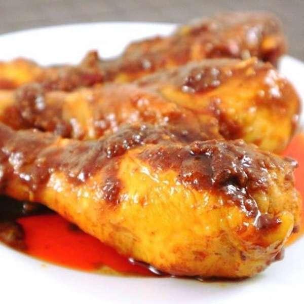 港式咖哩雞髀